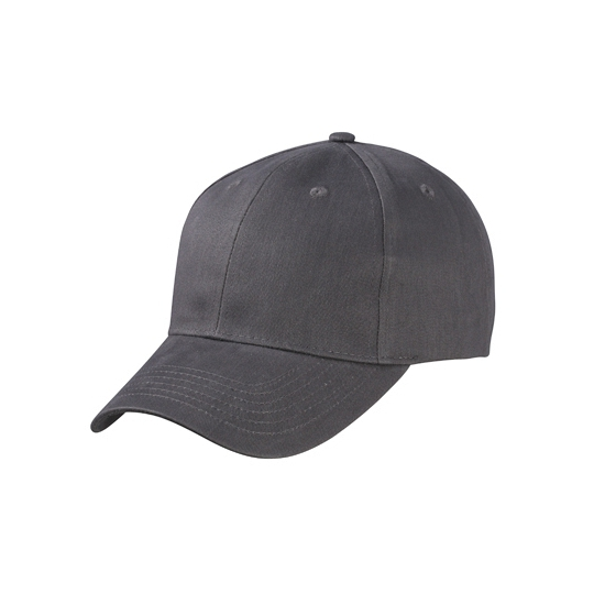Basic baseball cap antraciet