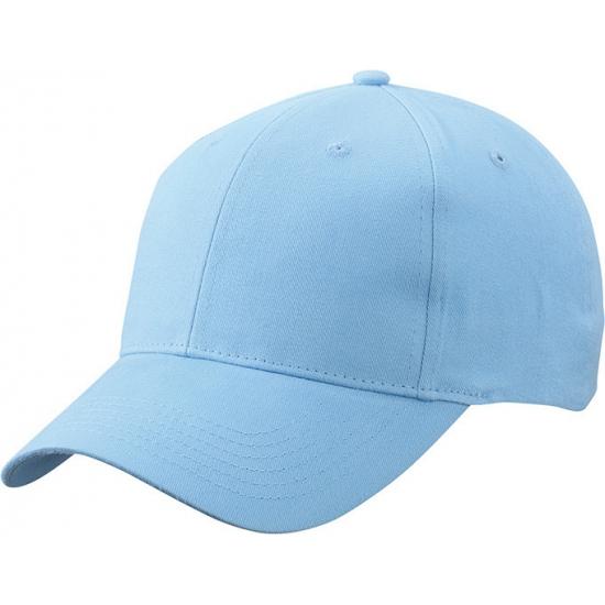 Basic baseball cap licht blauw