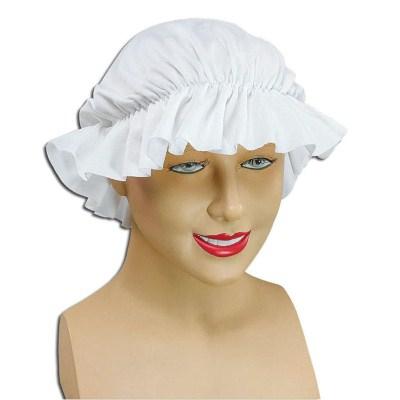 Dienstmeisjes mutsjes wit