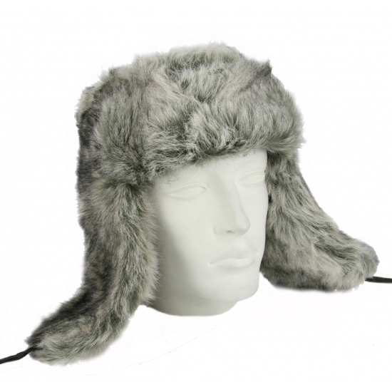 Grijze Russische bontmuts polar