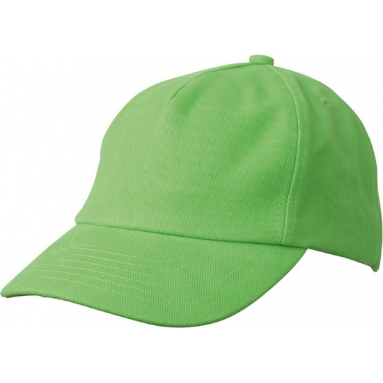 Lime groene kinder petjes