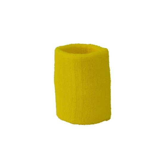 Pols zweetbandjes geel