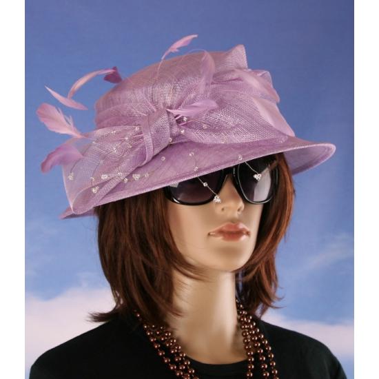Prinsjesdag nette hoed lila Alexia