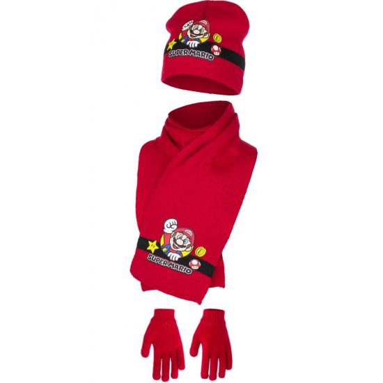 Rode Super Mario winterset