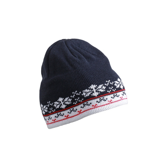 Scandinavische wintermuts navy