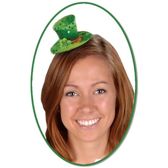 St. Patricks Day hoed op speldje