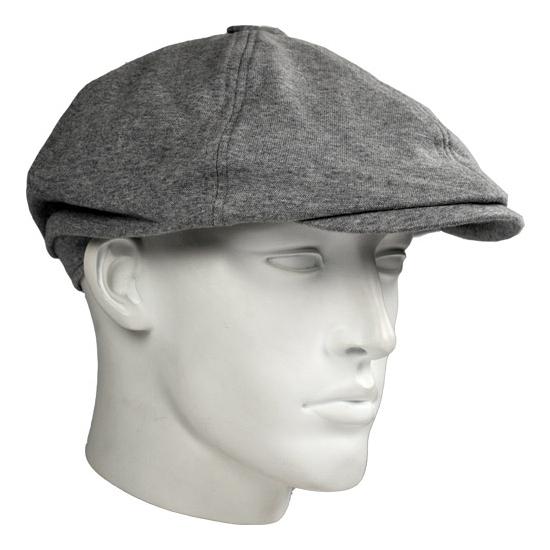 Trendy flat cap grijs