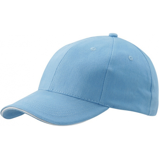 Voordelige baseball cap lichtblauw