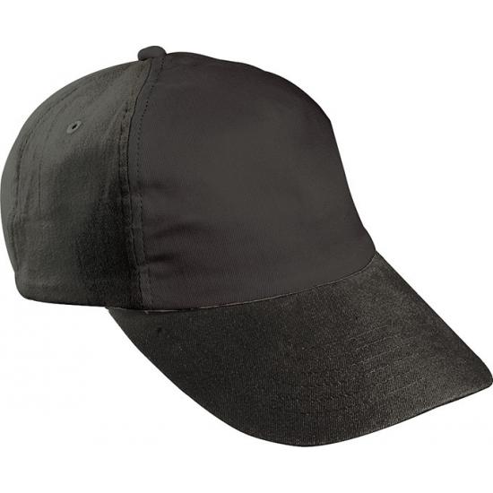 Zwarte kinder baseballcaps