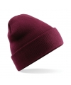 Basic winter muts bordeaux rood