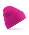 Basic winter muts fuchsia roze