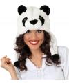 Panda beer muts voor volwassenen