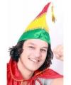 Prins carnaval muts rood geel groen