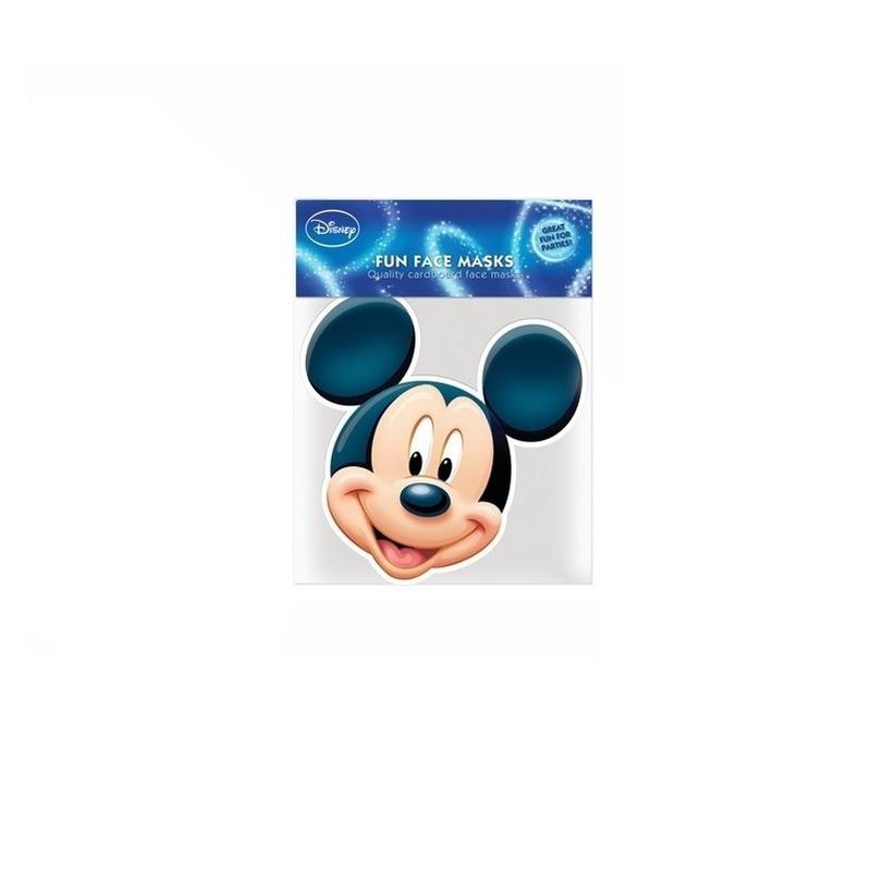 194ad3bd09e9 Maskertje met Mickey afbeelding op muts-bestellen.nl.