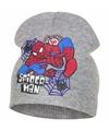 Spiderman muts grijs voor jongens